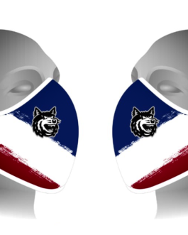 Facemask ~ blau-weiß-rot