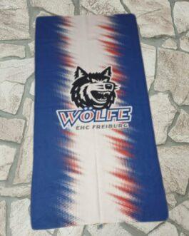 Handtuch ~ blau-weiß-rot