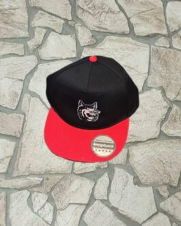 Cap ~ Kids schwarz-rot