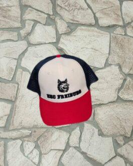 Cap ~ blau-weiß-rot Trucker