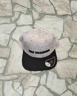 Cap ~ Snapback grau-schwarz