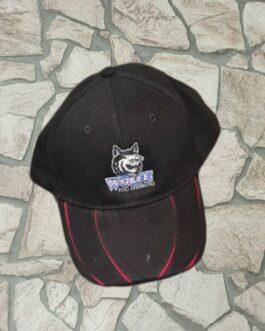 Cap ~ schwarz-rot