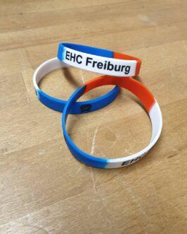 Silikon Armband ~ blau-weiß-rot